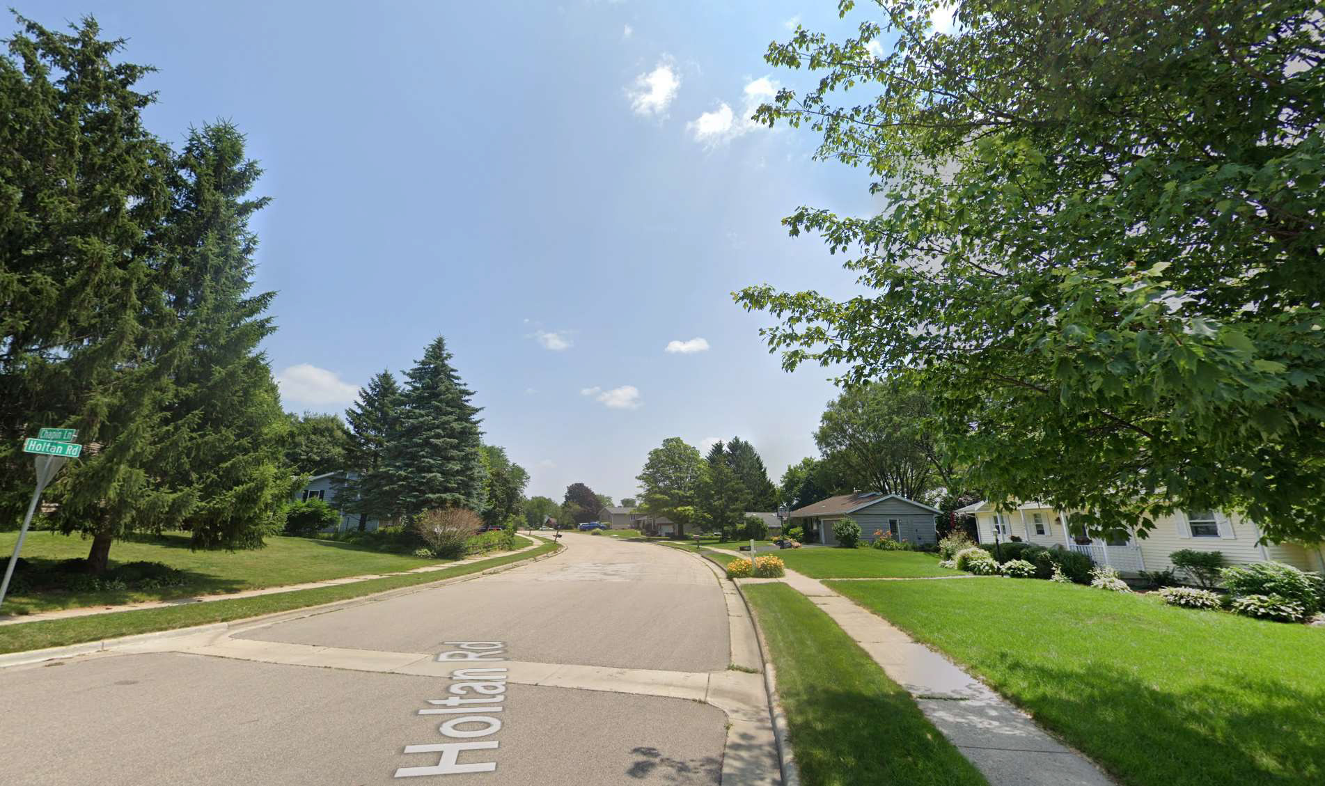street view of average neighborhood in Madison